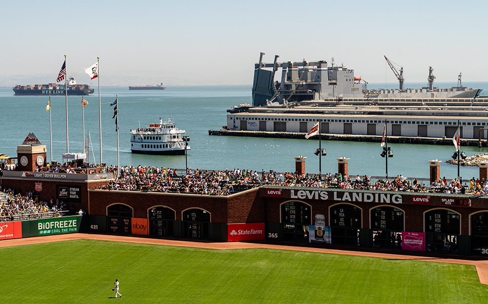 oracle park baseball stadium for san francisco giants